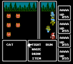 Cat Man 4 (FF1 Hack)