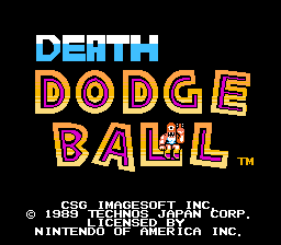 Death Dodge Ball (Super Dodge Ball Hack)