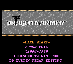 Debate Dude (Dragon Warrior Hack)