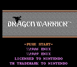 Dragon Warrior Enhanced (Hack)