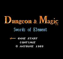 Dungeon n Magic - Swords of Element