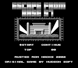 Escape From Base 57 (Bomberman Hack)