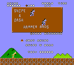 Hammer Bros Final Smb1 Hack 8bbit The Best Place To Play All