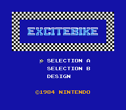 Headless Excitebike (Excitebike Hack)