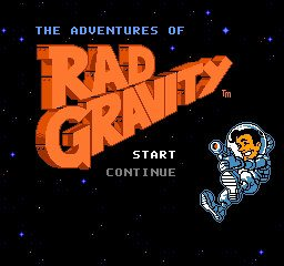 Adventures of Rad Gravity, The