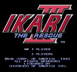 Ikari Warriors III: The Rescue