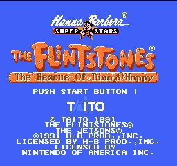 Flintstones, The - Rescue of Dino