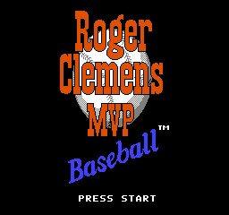 Roger Clemens MVP Baseball