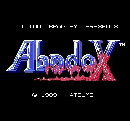 Abadox &#8211; The Deadly Inner War