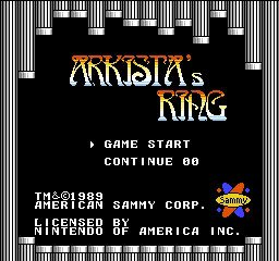 Arkista&#8217;s Ring