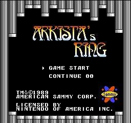 Arkista's Ring