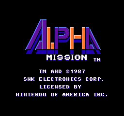 Alpha Mission