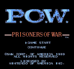 P.O.W. - Prisoners of War