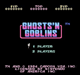 Ghosts N' Goblins