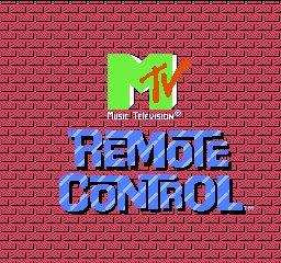 MTV's Remote Control