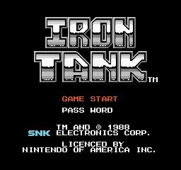Iron Tank
