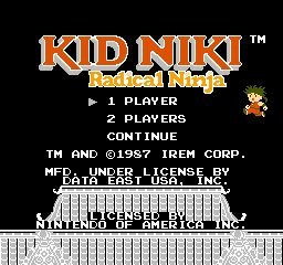Kid Niki - Radical Ninja