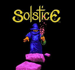 Solstice - Quest for the Staff of Demnos, The