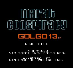 Golgo 13 - The Mafat Conspiracy
