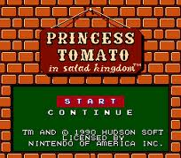 Princess Tomato in Salad Kingdom