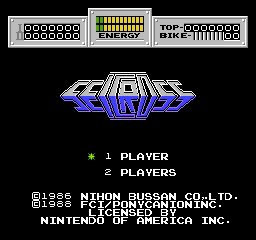 Play Seicross NES Game Online