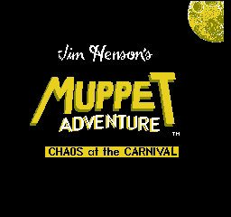 Muppet Adventure - Chaos at the Carnival