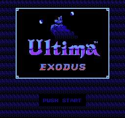 Ultima III - Exodus