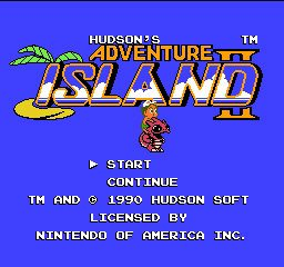 Adventure Island II