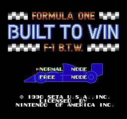 Formula One - Built to Win