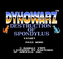 Dynowarz - The Destruction of Spondylus