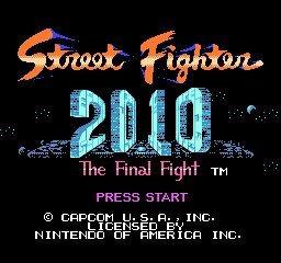 Street Fighter 2010 - The Final Fight