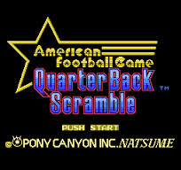 Quarter Back Scramble